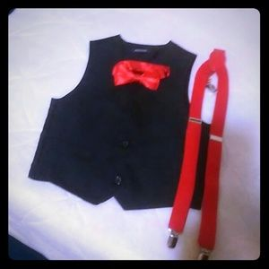 Other - Boys vest suspenders
